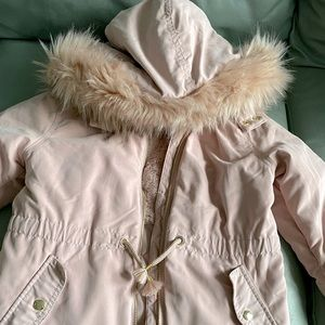H&M fall/spring Parka for your pink-loving girl!